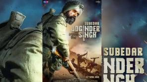 Subedar Joginder Singh First Official Poster. Image credit: Unisys Infosolutions @Unisysinfo Follow Follow (Twitter@Unisysin)