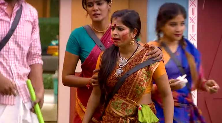 Bigg Boss Tamil 3 Unexpected Fight Between Sandy and Mathimitha