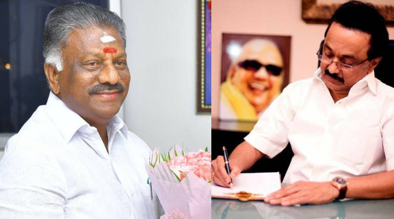 Central Revokes Z Plus and Y Category Protection to DMK Chief Stalin and O Panneerselvam