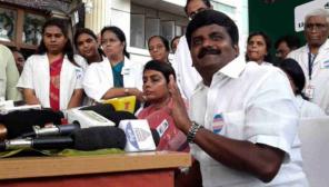 C Vijayabaskar - Health Minister of the State of Tamil Nadu