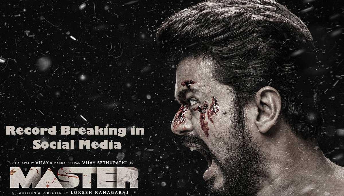 Thalapathy Vijay in Master Third Look Poster