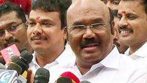 ADMK Minister Jayakumar on TN Assembly Election