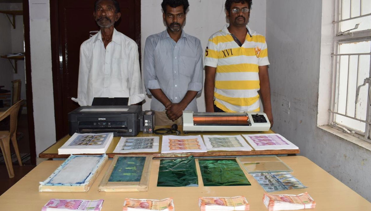 Coimbatore City Police Arrested Fake Currency Printers Today