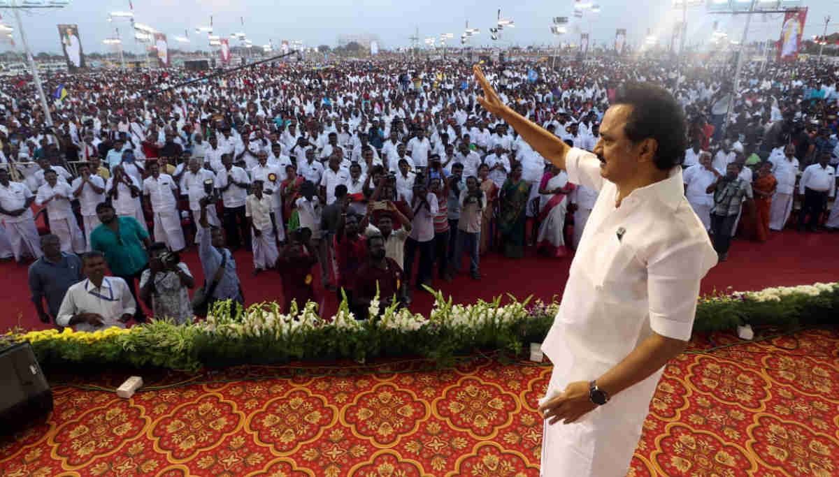 DMK Chief MK Stalin Plans for a Statewide Tour