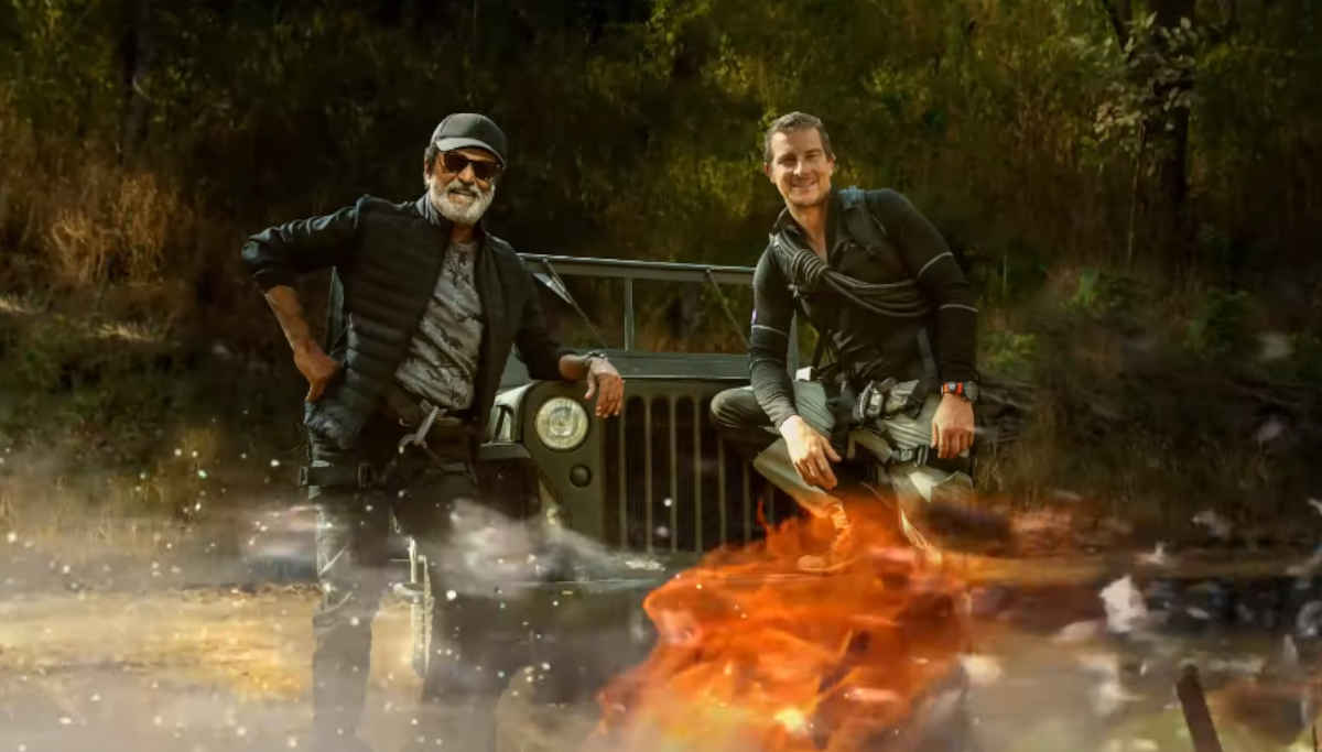 Into the Wild with Break Grylls and Rajinikanth Airs on March 23