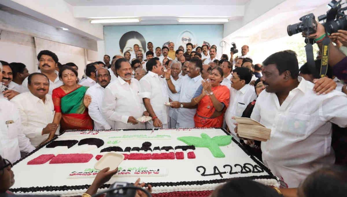 AIADMk Celebrates 72nd birth anniversary of Jayalalitha