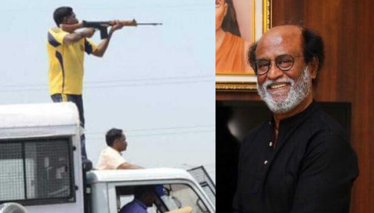 Sterlite Protest Shooting and Rajinikanth / Representation