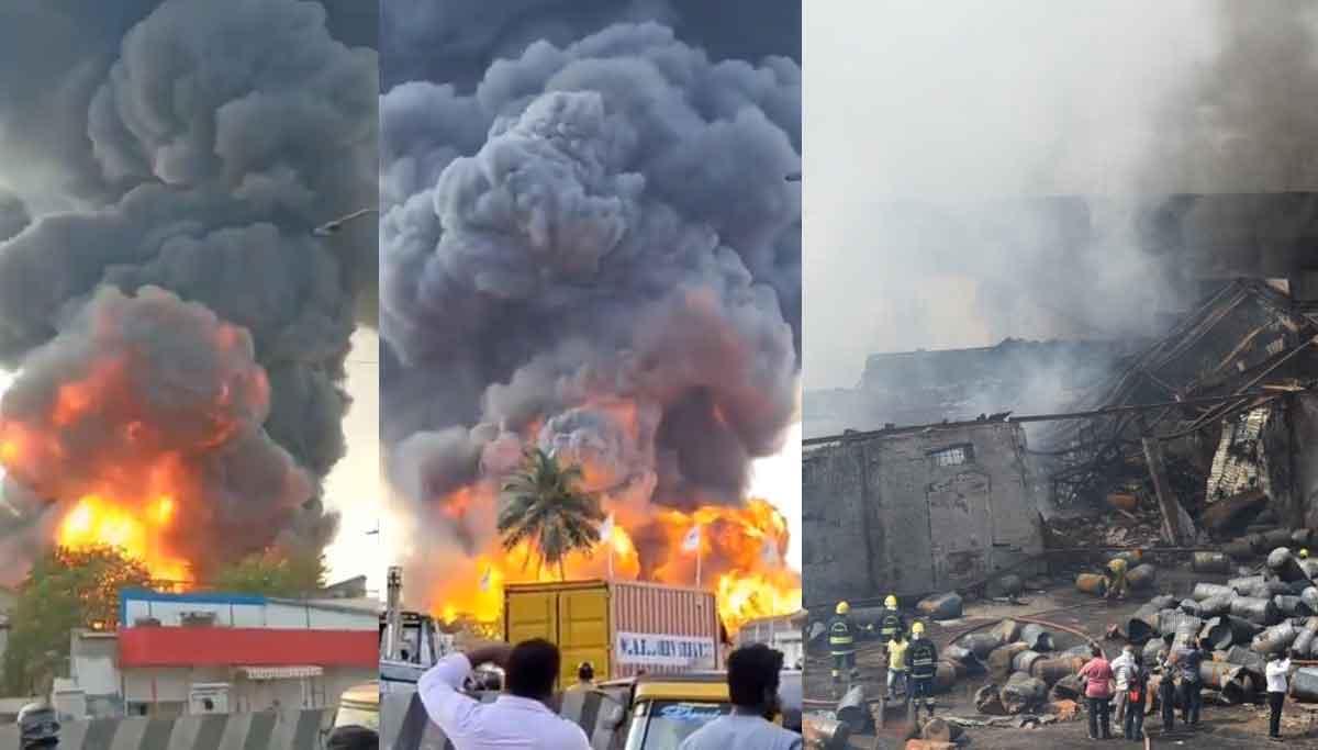 Madhavaram fire accident finally under control