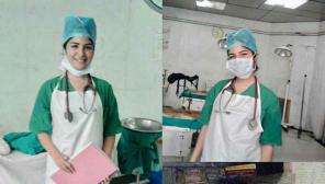 Shikha Malhotra Becomes Nurse