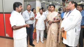 TN Health Minister is Inspecting Hospitals