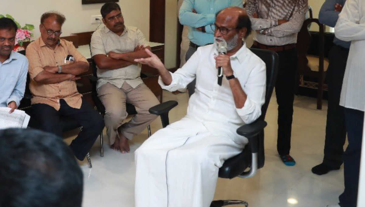 Rajinikanth to Play any role to maintain peace in the country