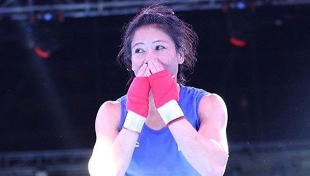 Mary Kom qualified for Tokyo Olympics