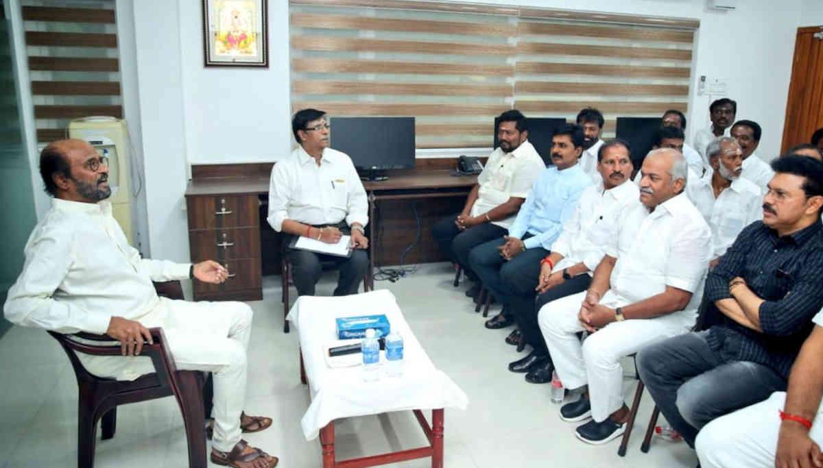 Rajini Makkal Mandram Secretary Meeting